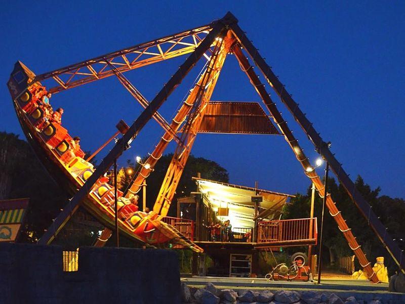 Schommelschip Navío Barbarroja in Isla Mágica