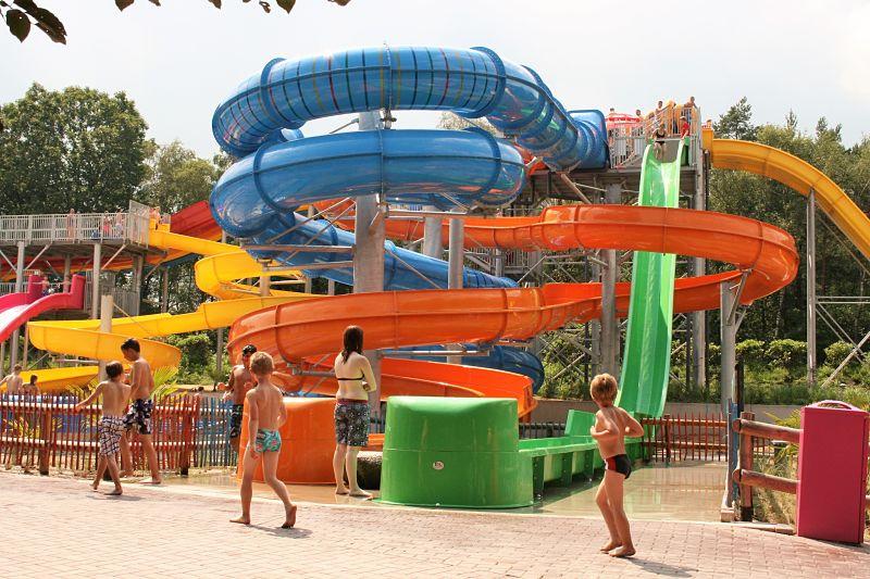 Slidepark Aquaventura in Avonturenpark Hellendoorn - Foto: © Adri van Esch