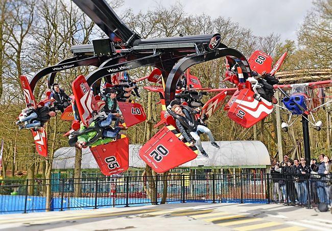 Wild Wings in Attractiepark Duinrell