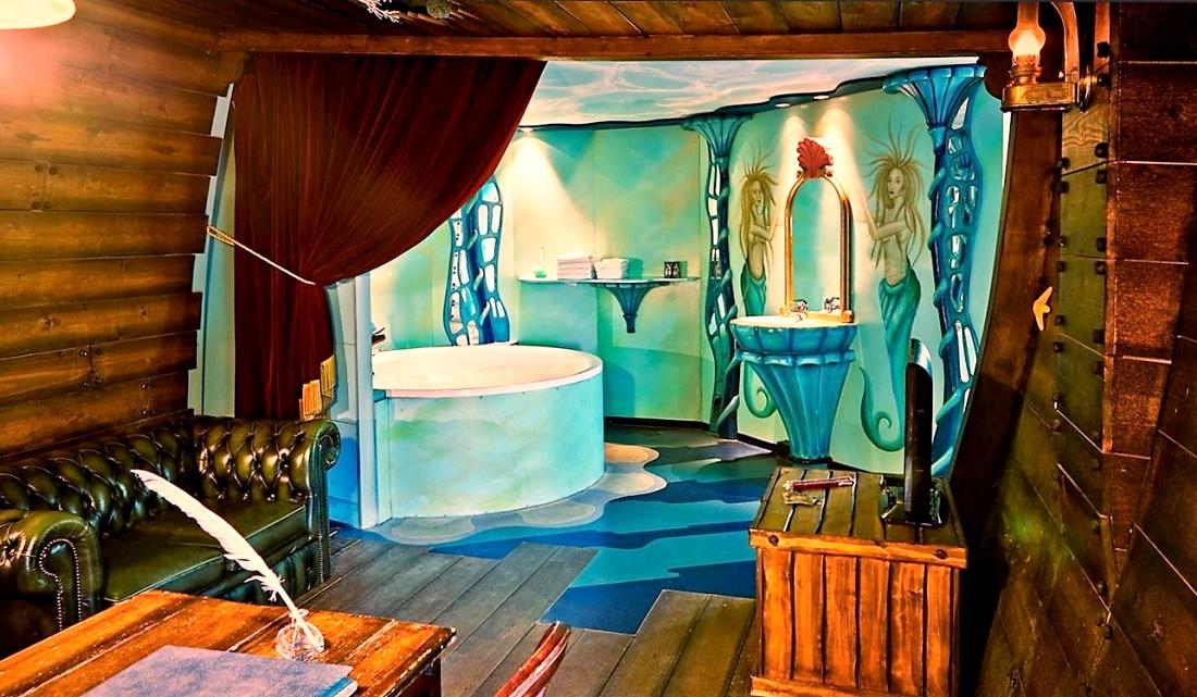 De (W)onderwatersuite in het Efteling Hotel - Foto: Efteling