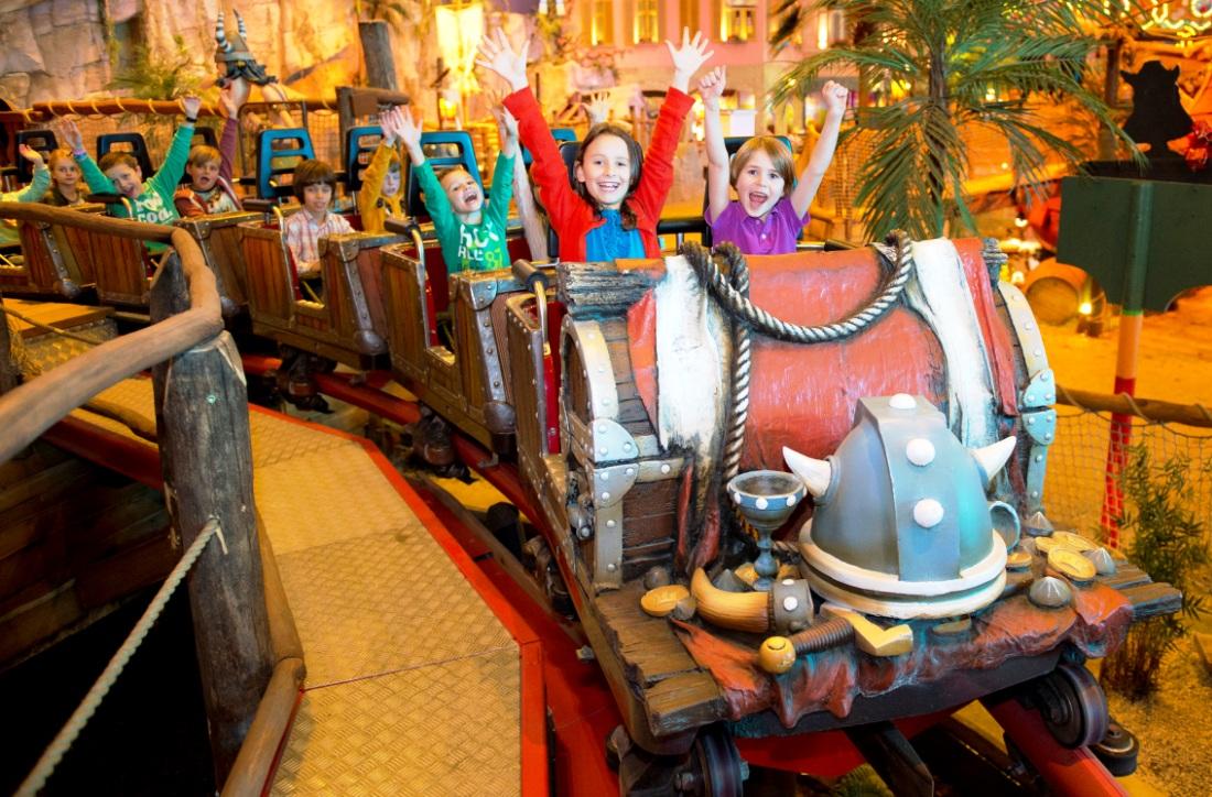 Plopsa Indoor Coevorden Wickie Coaster 15pers
