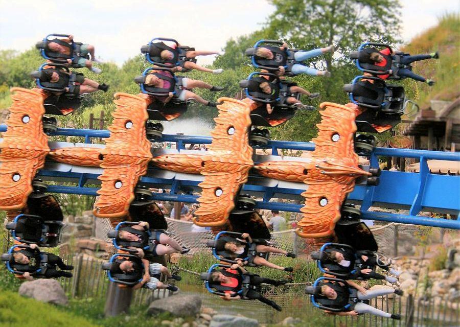 Wing coaster Fēnix in Toverland - Foto: © Adri van Esch