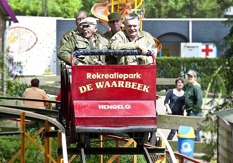 De Rodelbaan van De Waarbeek in Hengelo