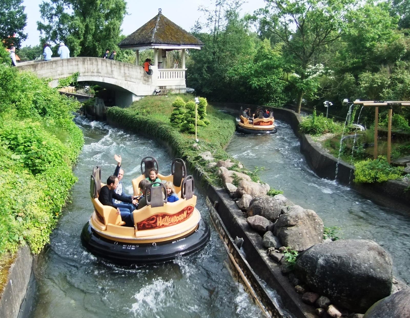 Wildwaterbaan Sungai Kalimantan in Avonturenpark Hellendoorn - Foto: © Adri van Esch