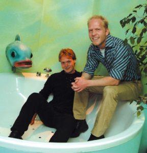 Mick Rijnders en Danny Rook in de nieuwe (W)onderwatersuite