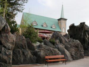 Kerkje in IJsland in Europa-Park - Foto: (c) Parkplanet