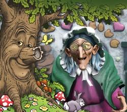 Efteling Sprookjesboom heks