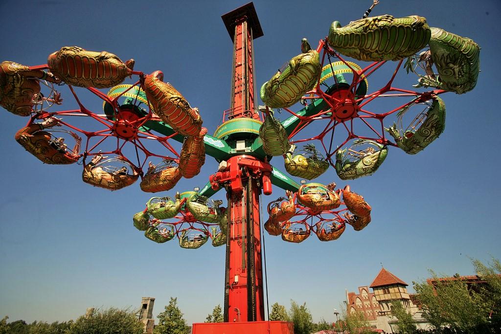 Drachenflug in Belantis