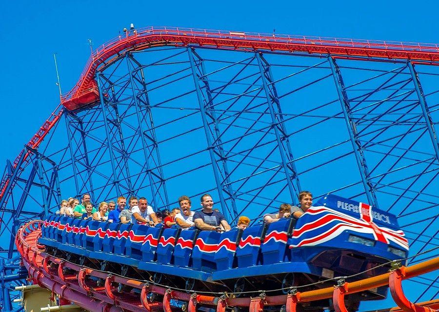 The Big One in Blackpool Pleasure Beach