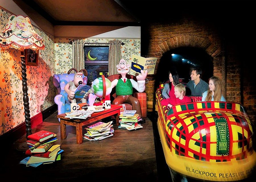 Wallace & Gromit's Thrill-O-Matic in Blackpool Pleasure Beach