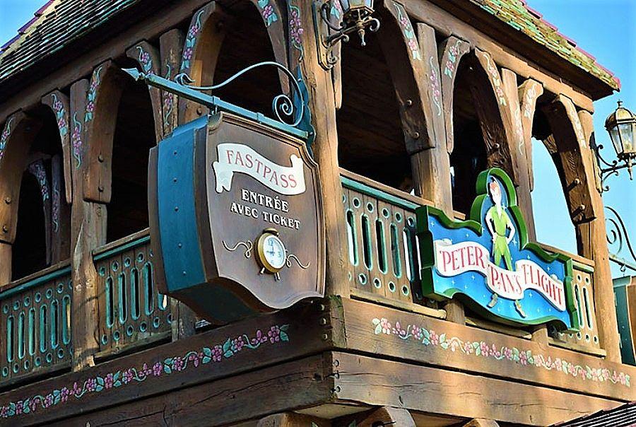 Fast Pass bij Peter Pan in Disneyland Paris - Foto: © Disney