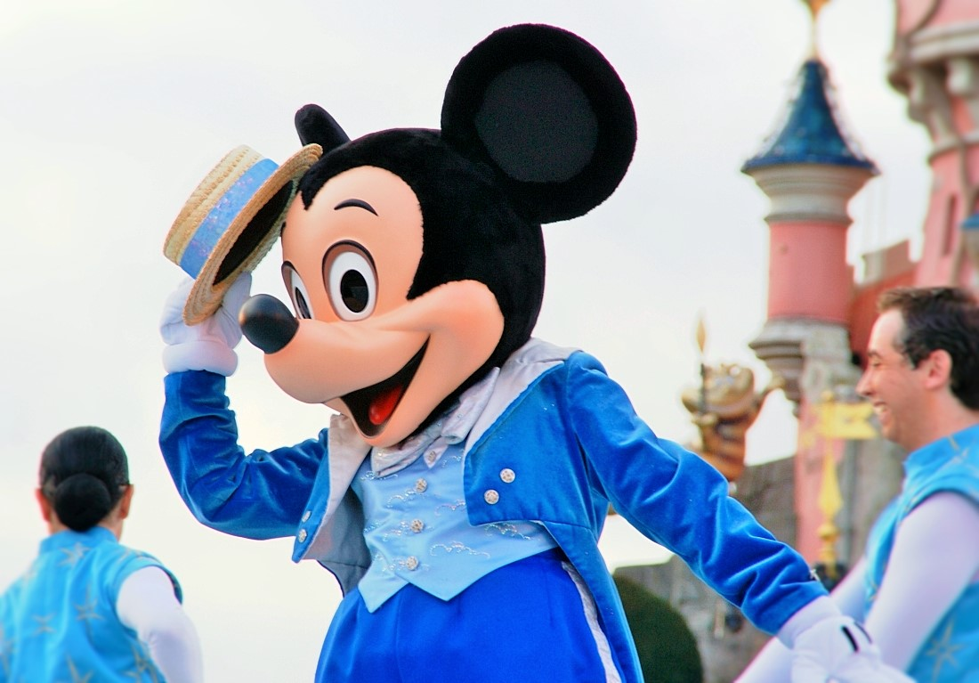 Mickey Mouse steelt de show in Disneyland Paris – Foto: © Adri van Esch