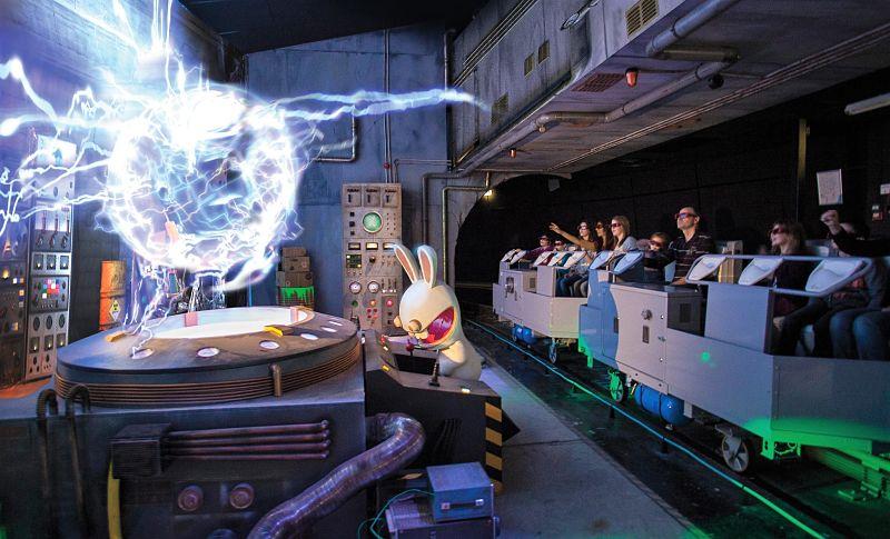 La Machine à Voyager dans le Temps in Futuroscope - Foto: © Futuroscope/JL. Audy