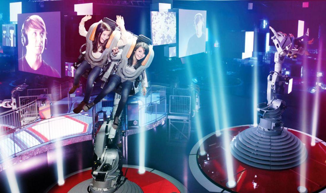 Danse avec les robots in Futuroscope