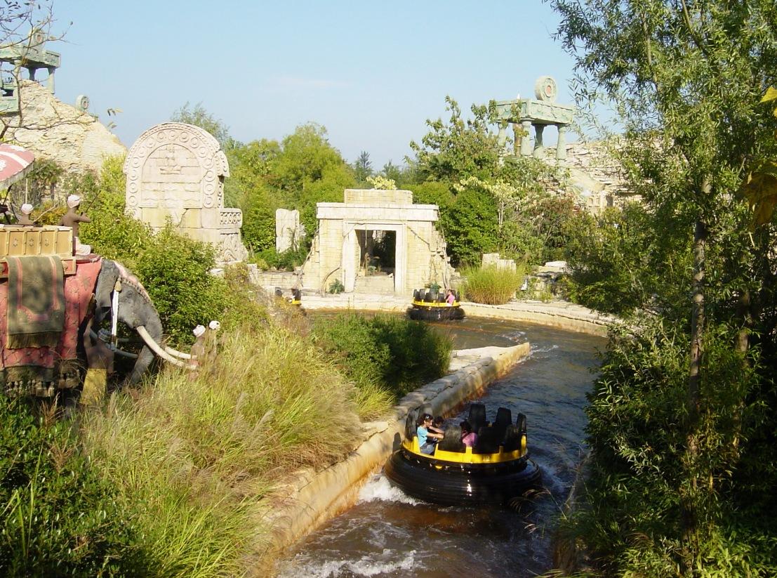 Gardaland rapid river
