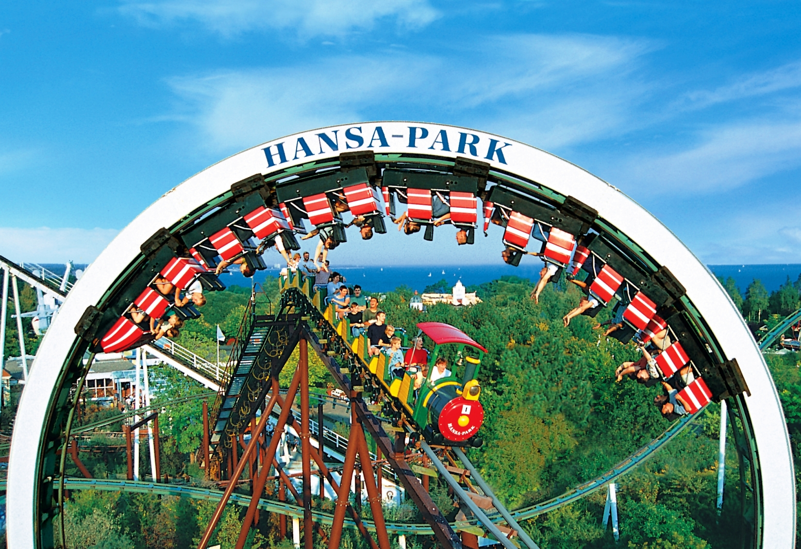 Hansa Park Nessie Looping 14pers