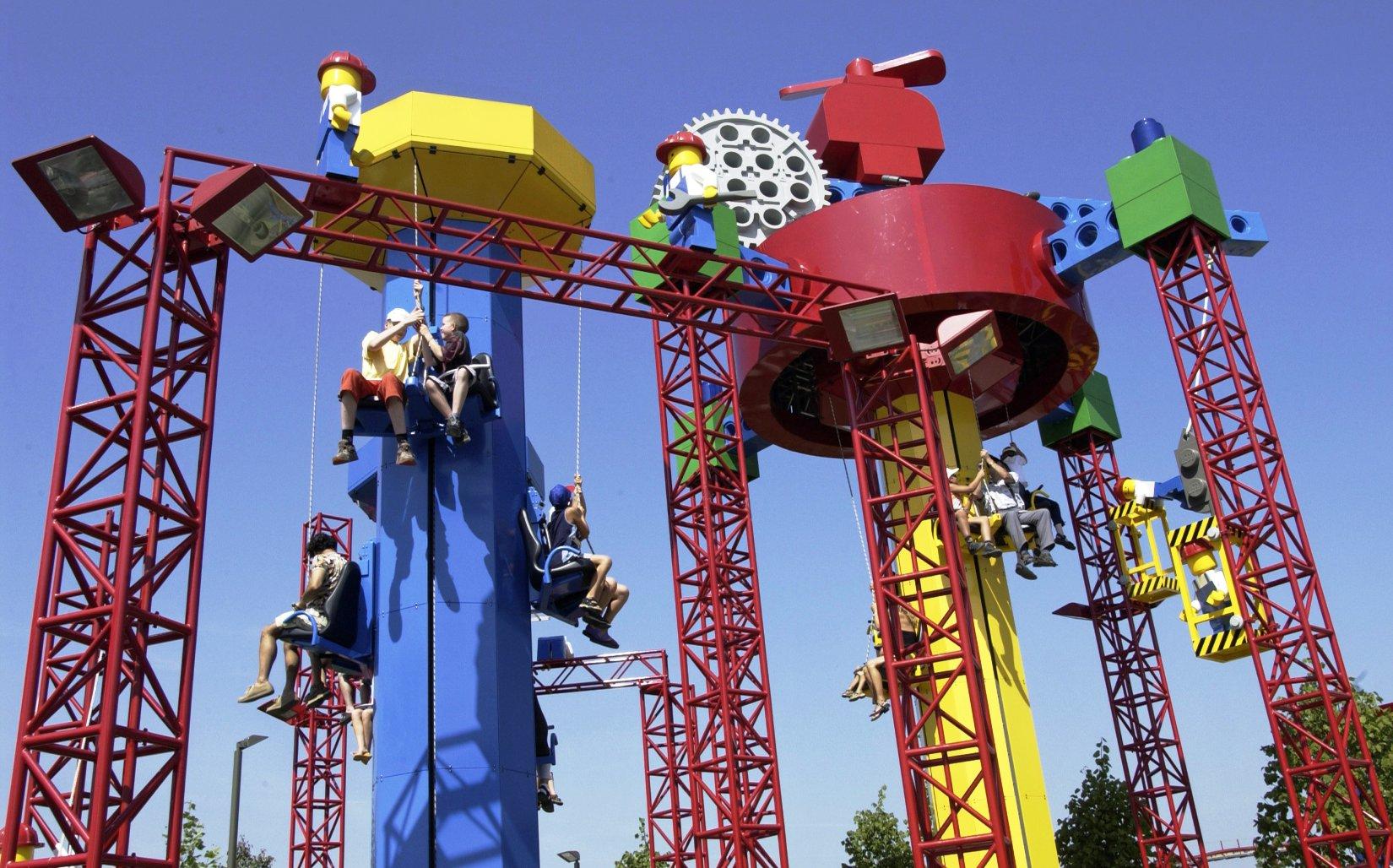 Imagination Kids Power Towers in Legoland Deutschland