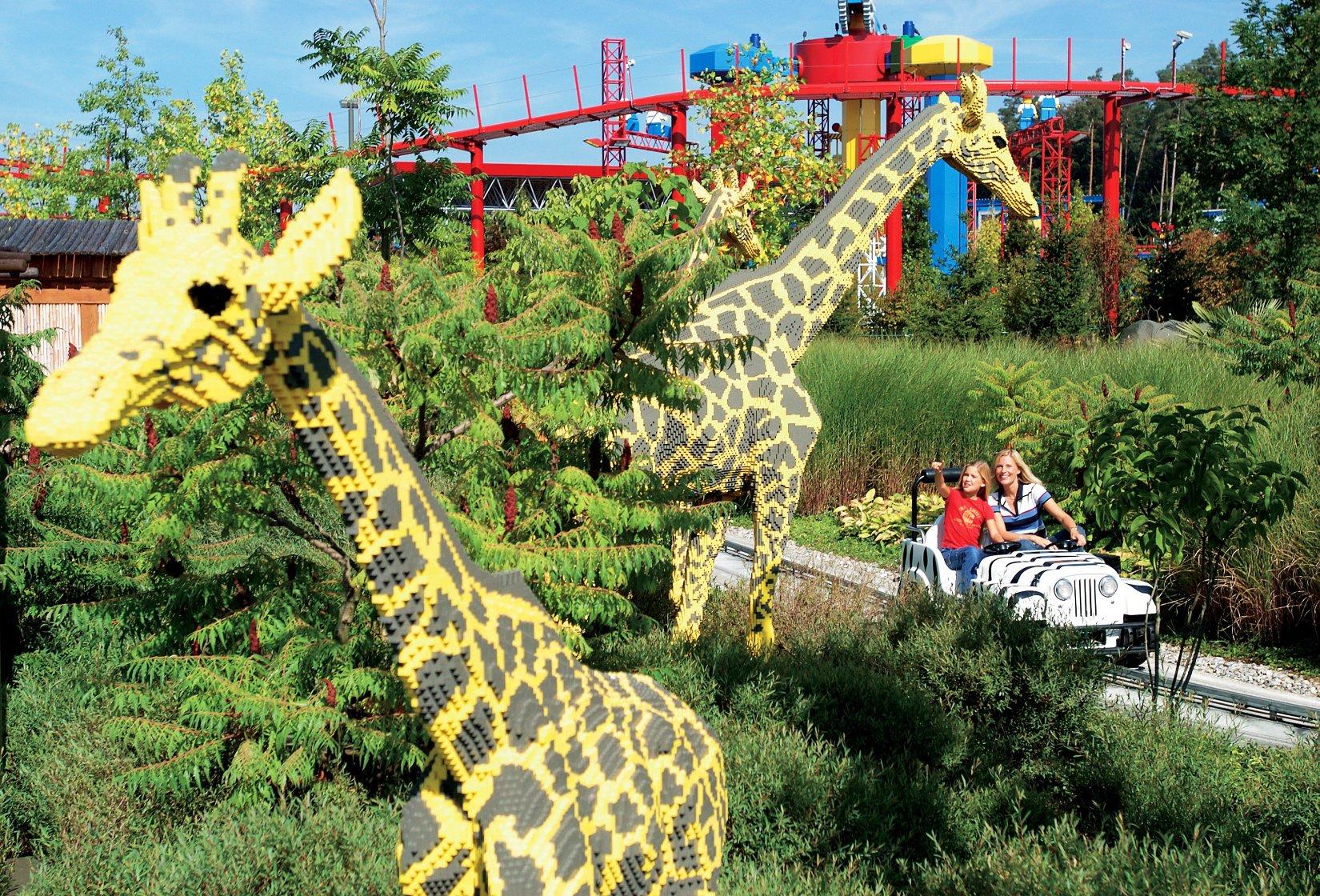 Safari Tour in Land der Abenteuer in Legoland Deutschland
