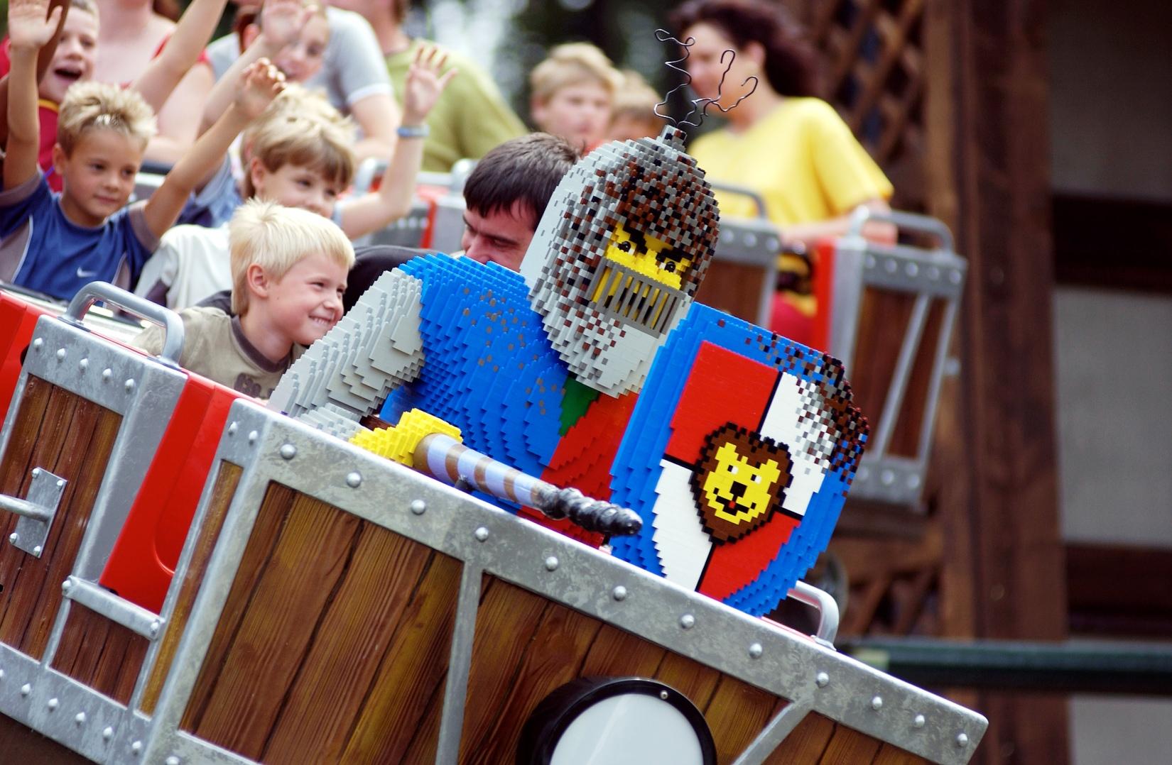 Drachenjagd in Legoland Deutschland