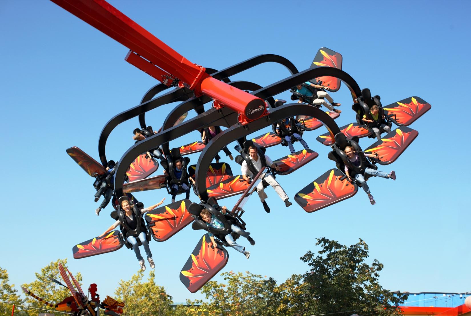 Flying Ninjago in Legoland Deutschland
