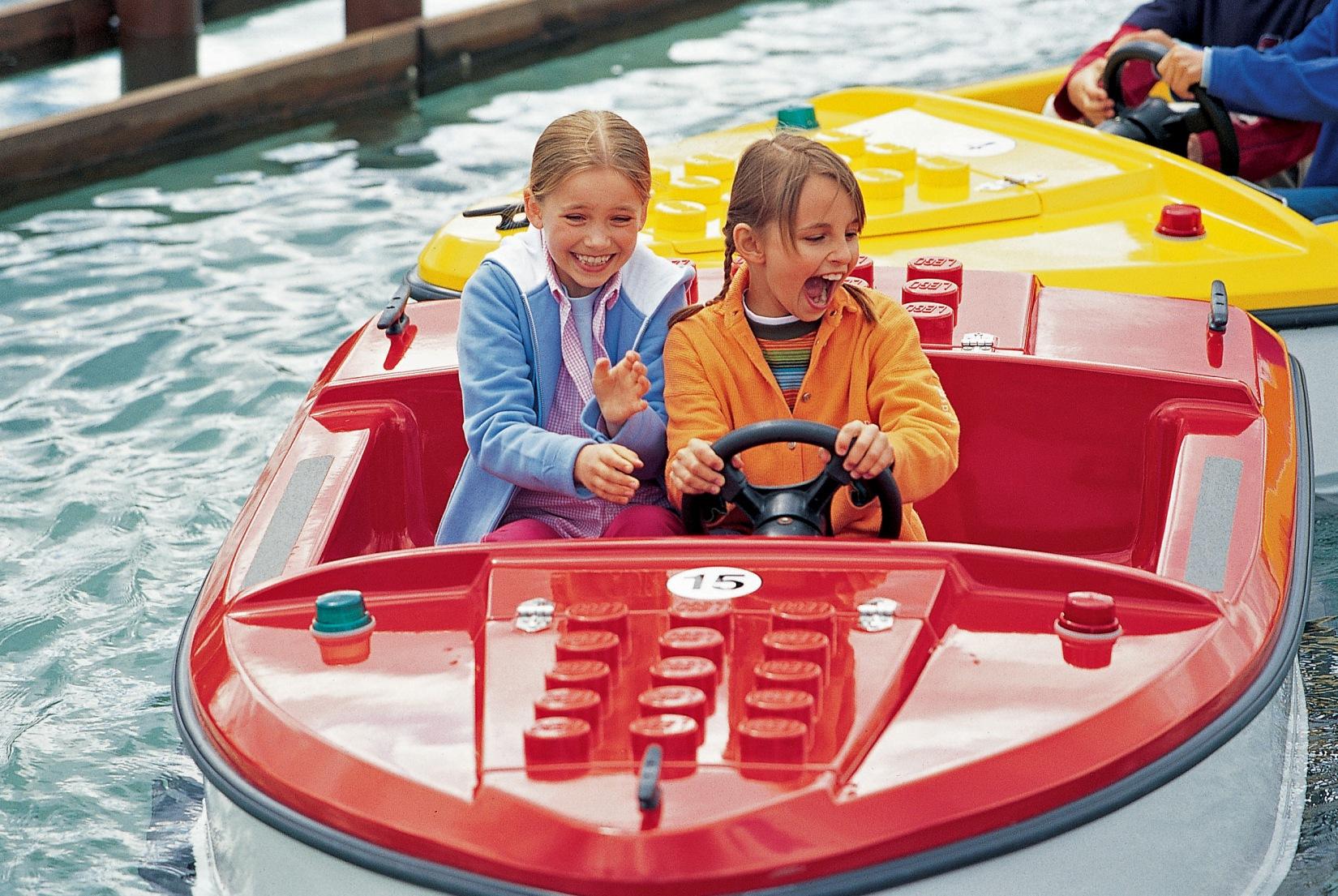 Havenrondvaart in Legoland Deutschland
