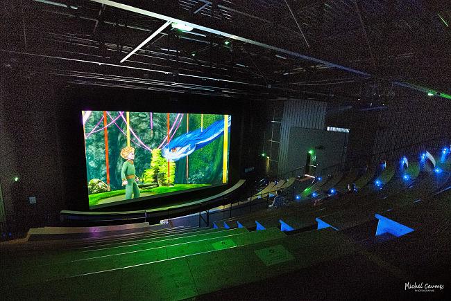 3D-filmtheater in Parc du Petit Prince - Foto: Michel Caumes