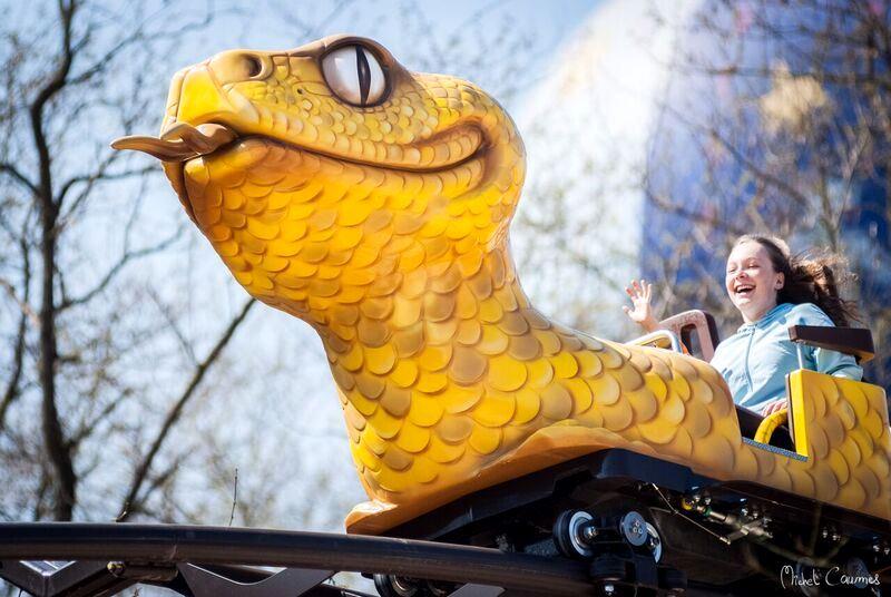 Achtbaan Le Serpent in Parc du Petit Prince - Foto: Michel Caumes
