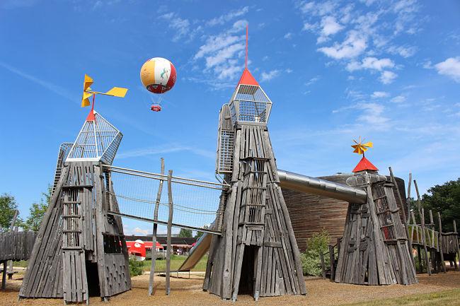Speeldorp in Parc du Petit Prince - Foto: Blogueurs d'Alsace