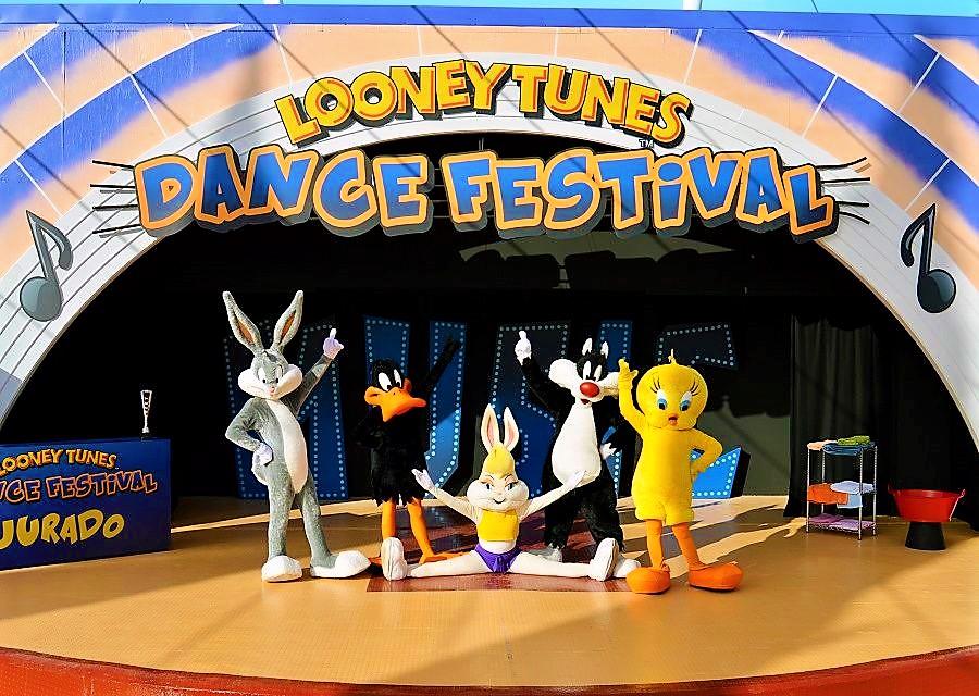 Looney Tunes in Parque Warner Madrid