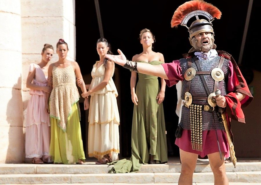 De show Spartacus in Terra Mítica