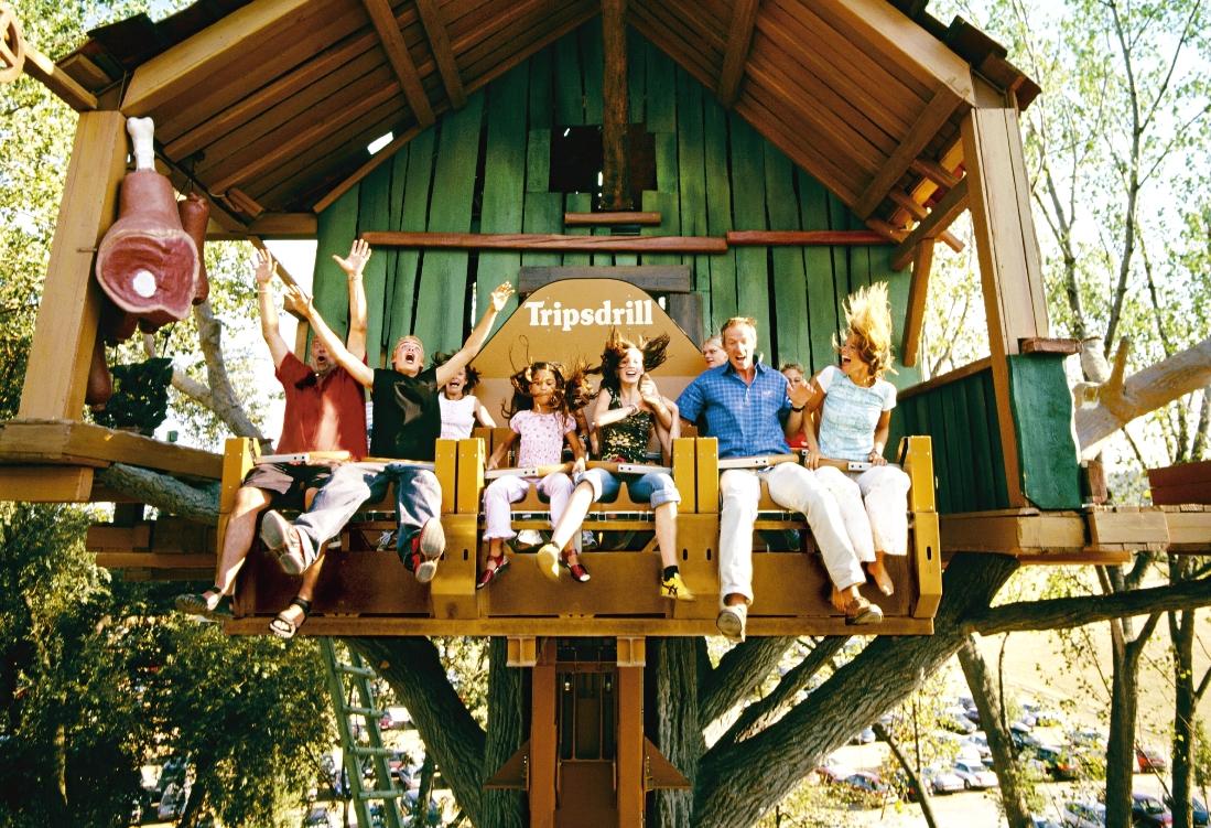 Donnerbalken in Erlebnispark Tripsdrill