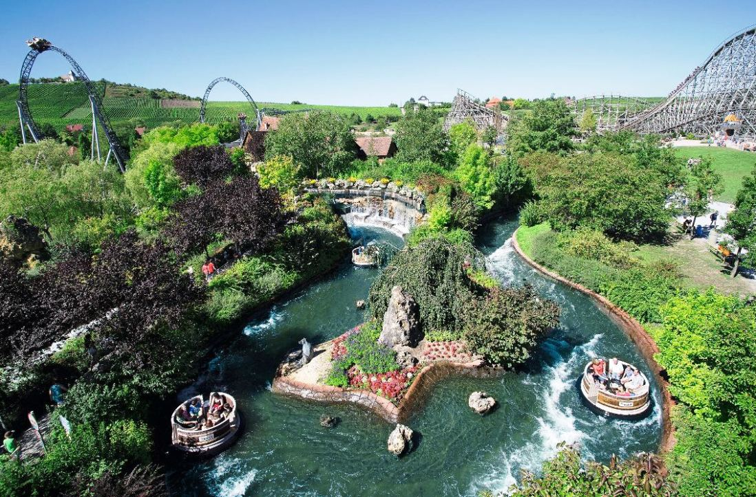 Panorama van Erlebnispark Tripsdrill