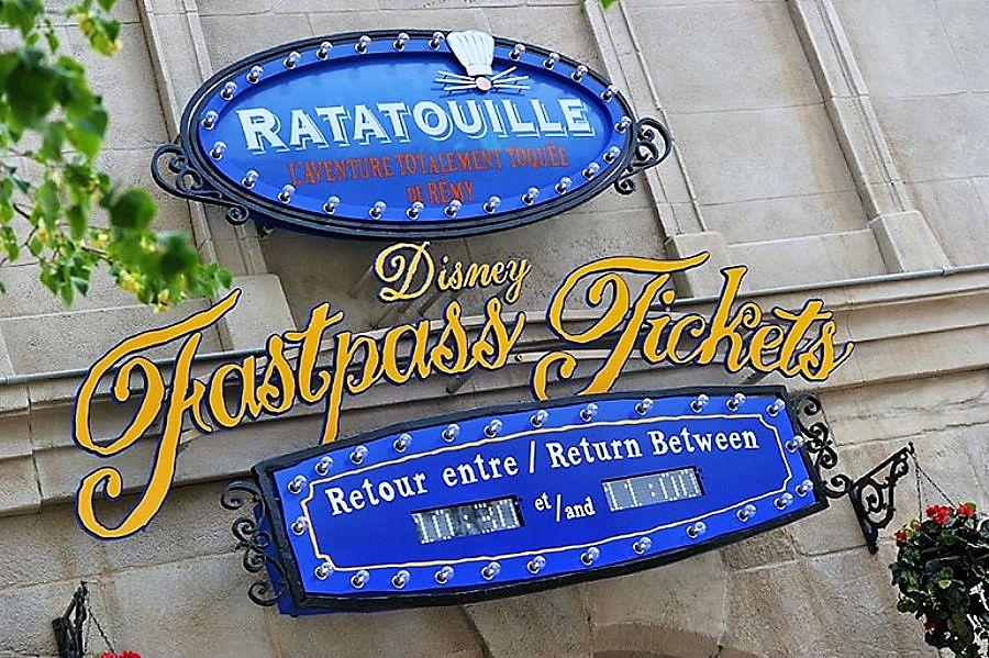 Fast Pass bij Ratatouille in Walt Disney Studios Park - Foto: (c) Disney