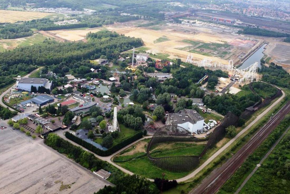Walygator Grand Est vanuit de lucht - Foto: Moselle Tourisme