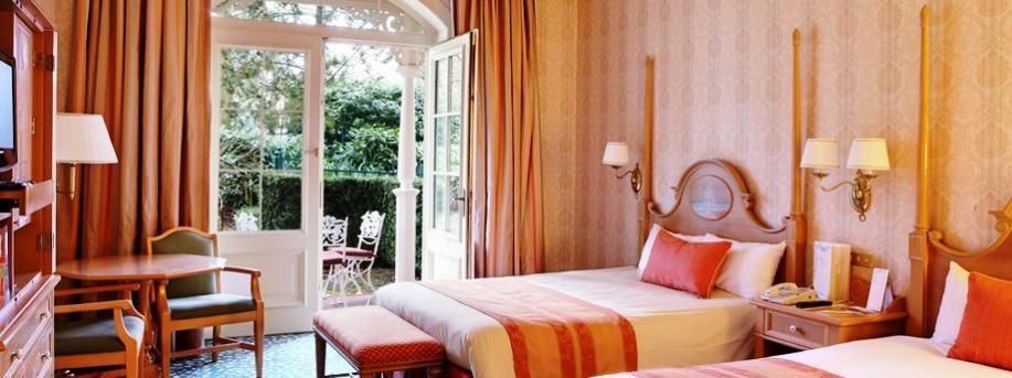Kamer in het Disneyland Hotel in Disneyland Paris - Foto: © Disney
