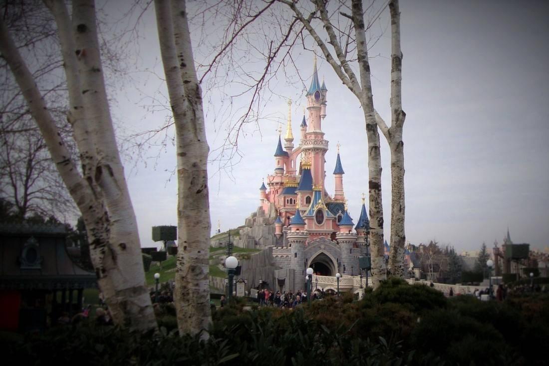 Het kasteel van Doornroosje in Disneyland Paris - Foto: © Adri van Esch