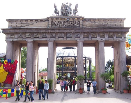 De voormalige Brandenburger Tor in Phantasialand - Foto: Miracle Marc