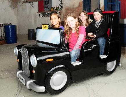 Crazy Taxi in het Europa-Park