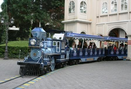 De Panoramabaan vertrekt uit het station in Rusland - Foto: (c) Parkplanet