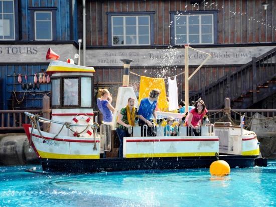 Whale Adventures Splash Tours in Europa-Park