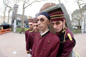 Promotie voor Tower of Terror in Londen