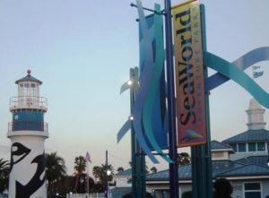 Ingang SeaWorld Florida