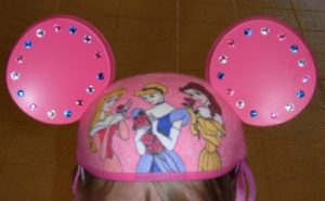 Roze Mickey Mouse-oren