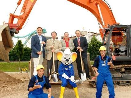 Eerste spade de grond in voor nieuwe toegangsweg