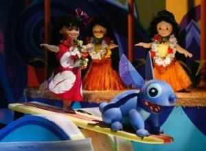 Lilo & Stitch in It's a Small World