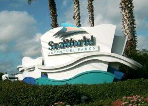 Ingang SeaWorld