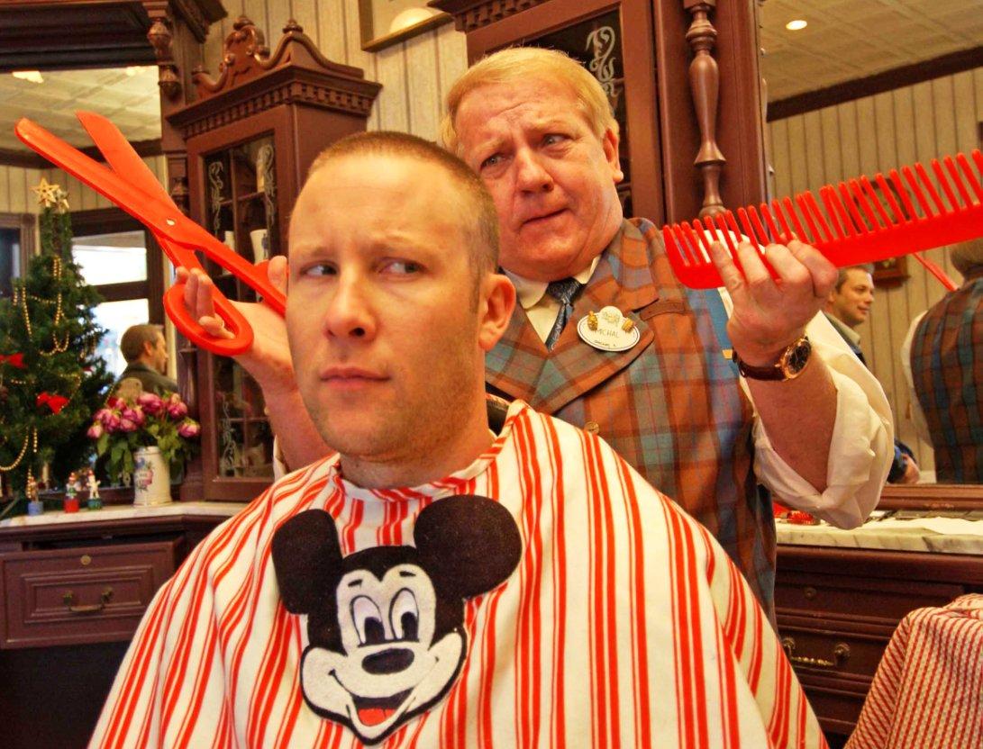 WDW MK Barber Shop