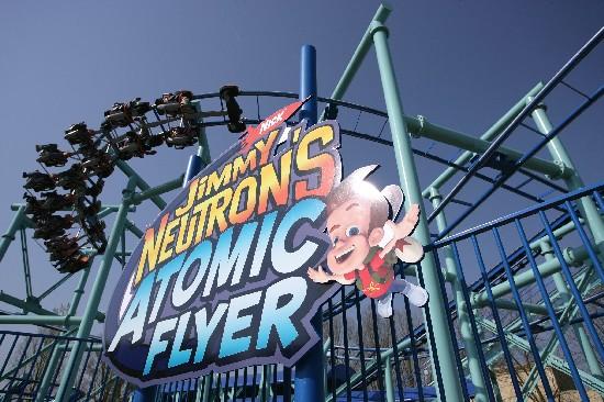 Jimmy Neutron Atomic Flyer in Movie Park Germany
