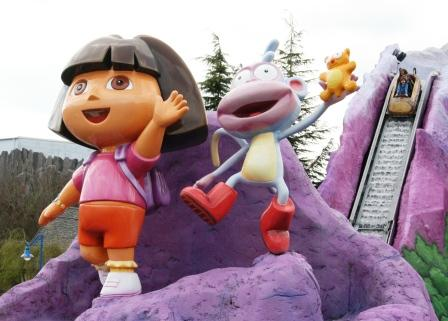 Dora's Big River Adventure - Foto: (c) Parkplanet