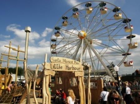 Santa Monica Wheel in Movie Park Germany